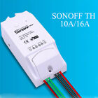 Sonoff TH10/TH16 temperature humidity wireless smart home auto switch lot QM7
