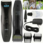 Pro Electric Low-noise Pet Dog Cat Animal Hair Trimmer Grooming Clipper Comb Kit