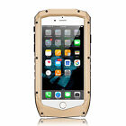 Waterproof Shockproof Aluminum Glass Metal Case Cover for iPhone 6 6s