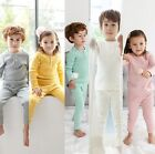 Kids Boys Girls Sleepwear T-shirt+Pants Cotton Clothing Toddler Nightwear Sets