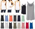 LADIES RELAXED, DRAPEY FIT, THIN STRAP, TANK TOP, SOFT, LIGHTWEIGHT, XS-2XL