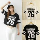 Summer Women's Fashion Letter Print Loose Tops Casual Short Sleeve Tee Shirts