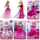 BARBIE DOLL PINK AND FABULOUS FASHION PLAY TOY WITH DRESSING GOWN ACCESSORIES