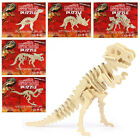 Dinosaur Skeleton 3D Puzzle - Wooden Puzzle Science Model Party Bag Kids Gift BN