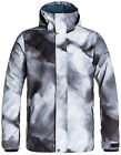 Quiksilver TR Mission Printed Shell Snowboard Jacket Mens