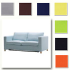 Custom Made Cover Fits IKEA Karlanda Loveseat, Two-seat / 2 Seater Sofa Cover