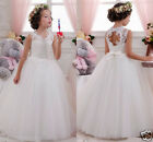 Girl Communion Party Prom Princess Pageant Bridesmaid Wedding Flower Girls Dres