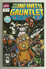 The Infinity Gauntlet #1 Marvel Comics July, 1991 Thanos, Dr. Strange NM-