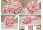 WEDDING FLOWERS WEDDING BOUQUET BRIDES TEARDROP POSY WAND CORSAGE BUTTONHOLES