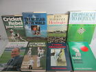 Cricket book collection x 25 titles, antiquarian and modern books, sport