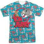 Tom And Jerry - Double Trouble Officially Licensed Sublimation Adult T Shirt