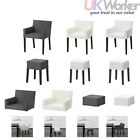 NILLS modern Chair With Armrests, Stool, Separate Covers from IKEA