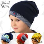 Kids Boys Hat Toddler Cap Spring Beanie Cotton Pull On Hat