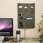 """Wally"" Hanging Wall Organizer For Smartphones, Tablets, and Small Electronics"