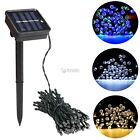New 100 LED Outdoor Solar Powered String Light Garden Christmas Party DZ8801