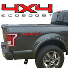 4X4 ECOBOOST BEDSIDE VINYL DECAL FIT FORD TRUCKS 2008-2017 F150 F250 SUPER DUTY
