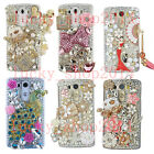 Luxury Full Bling Diamond Rhinestone Crystal Jewelled Case Cover for Cell Phones