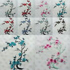 1X Flower Applique Embroidery Patch Sticker Iron On Sew Cloth Patch netmoto