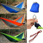 Outdoor Hammock Travel Sleep Swing Camping Parachute Nylon Fabric For 2 Person