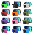 360 Rotate Hybrid Heavy Duty Shockproof Case Cover With Stand for iPad mini4