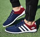 Men's Shoes Fashion Breathable Casual Canvas Sneakers Running Shoes UK 6-9+&