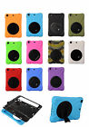 SALE 360 Rotate Hybrid Heavy Duty Shockproof Case Cover Stand for iPad mini1/2/3