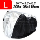 For 1-3 Bikes Waterproof Bicycle Cover Outdoor Rain/Sun/Snow Protector Dustproof