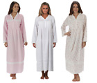 100% Cotton Nightdress Victorian Nightgown 8 10 12 14 16 18 20 2 24 26 Annabelle