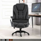 Executive Leather Gaming Computer Desk Office Swivel Reclining Or Massage Chair
