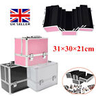 Panana Extra Large Space Cosmetic Beauty Case Box Make Up Nail Jewelry Storage