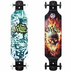 Speed Longboard Drop Down 100 cm Drop-Down Funboard Offroad große CNC ALU Rollen