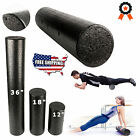Yoga Foam Roller High Density Muscle Back Pain Trigger Massage Gym Exercise NEW  image