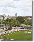 HUGE Monet Garden of the Princess Louvre Stretched Canvas Giclee Repro ALL SIZES