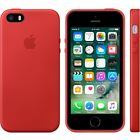 Apple Authentic OEM - Hard Leather Case w/ Microfiber Lining for iPhone 5/5s/SE