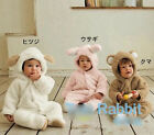 Unisex Boy Girl fleece baby grow Animal Dog Onesie Perfect Suit Age 3 - 6 months