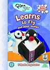 PINGU - PINGU LEARNS TO FLY AND OTHER STORIES - DVD & BOOK  NEW SEALED