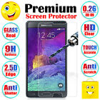 Premium Anti-Shatter Tempered Glass Screen Protector Guard Shield For Samsung