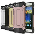 Shockproof Armor Dual Layer Hybrid Protective Cover Case For Huawei Phone