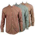 New Mens Ben Sherman Plectrum Soho Slim Fit Long Sleeve Shirt Size XS-4XL Stripe