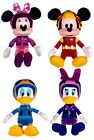 """NEW OFFICIAL DISNEY 12"""" MICKEY MINNIE DONALD DAISY ROADSTER RACER PLUSH SOFT TOY"""