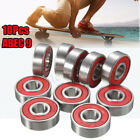 10/20/50/100pcs Roller Skate Skateboard Ball Wheel Bearing ABEC-5/7/9 608 RS 2RS image