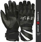 SALE Weise Oslo MEDIUM Mesh Leather Short Waterproof Motorcycle Glove Gloves M