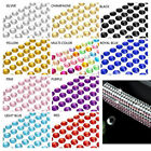 6mm Self Adhesive Crystal Rhinestones Sticker Phone case Car Bling Decor 504 Pcs