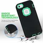 Hybrid Shockproof Rugged Heavy Duty Cover Case Skin for Apple iPhone 5/ 5S/SE
