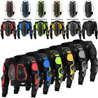 Motorcycle Body Armour Safety Jacket Motocross Motorbike Spine Protector Guard