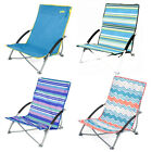 YELLO LOW FOLDING BEACH CHAIR CAMPING FESTIVAL BEACH POOL PICNIC DECKCHAIR