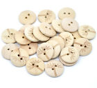 Natural Tree Design Wooden Buttons 20mm. Sewing and Crafts.
