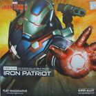 IRON PATRIOT / WAR MACHINE 1/12 Iron Man Play Imaginative Super Alloy Figure