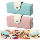 Pencil Case Organizer Pen Cosmetics Bag Pouch School Coin Purse Faux leather Hot