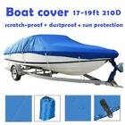210D+All+Seasons+Waterproof+Boat+Cover+Outdoor+Protector+Fits+V%2DHull